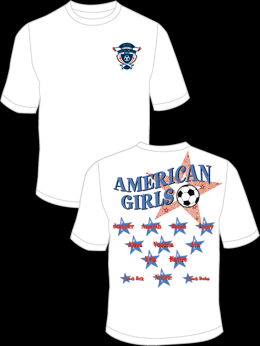 American Girls Practice T-Shirt