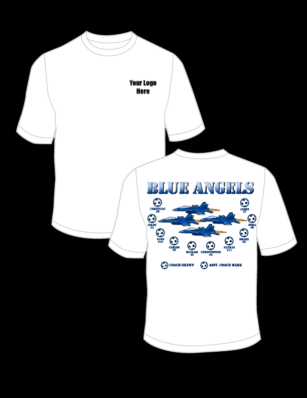 Blue Angels Practice T-Shirt