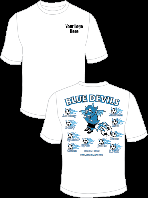 Blue Devils (Alternate) Practice T-Shirt