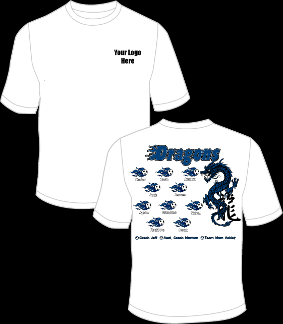 Blue Dragons Practice T-Shirt