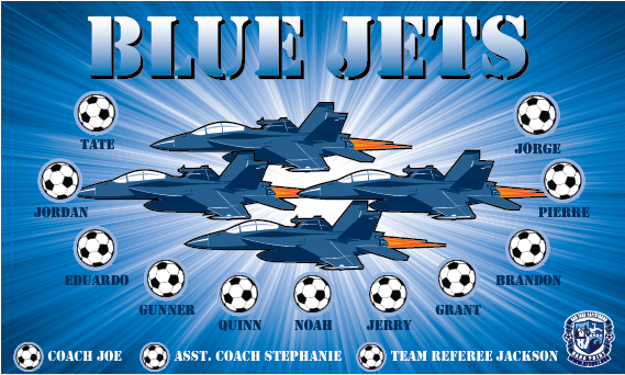 Blue Angels (Jets) Custom Vinyl Banner
