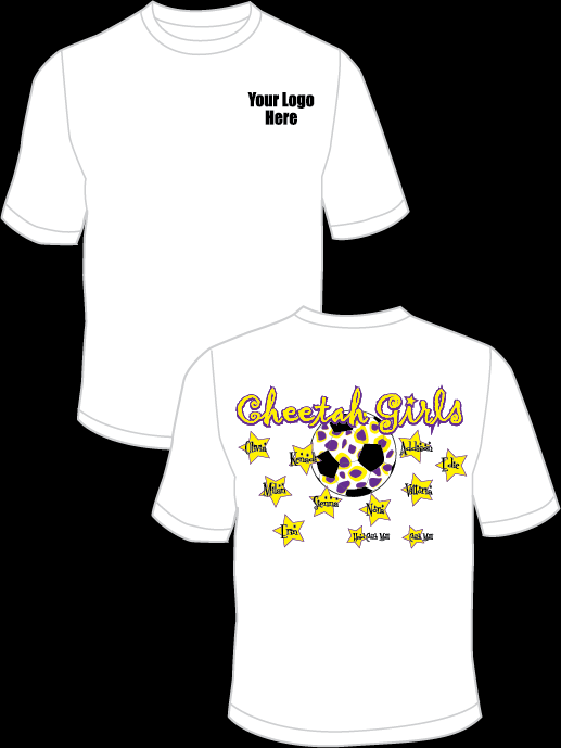 Cheetah Girls Practice T-Shirt