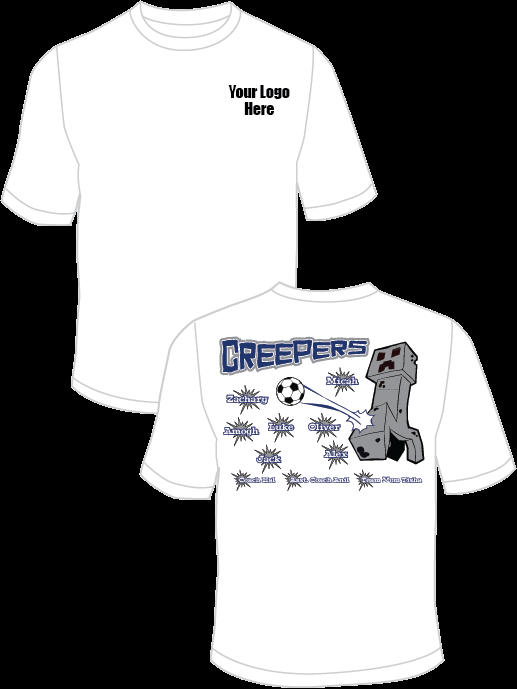 Creepers (Blue) Practice T-Shirt