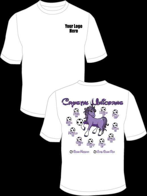 Crystal Unicorns Practice T-Shirt