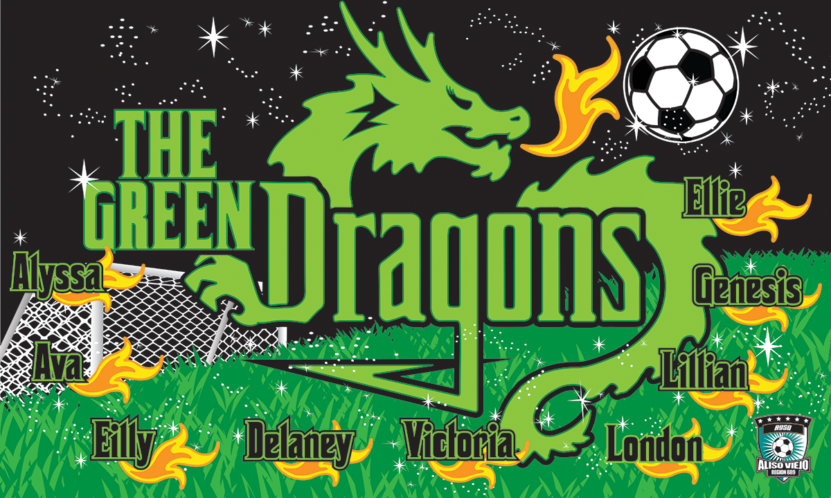 Green Dragons Banners Product Sale Banners