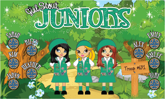 Juniors Custom Vinyl Banner