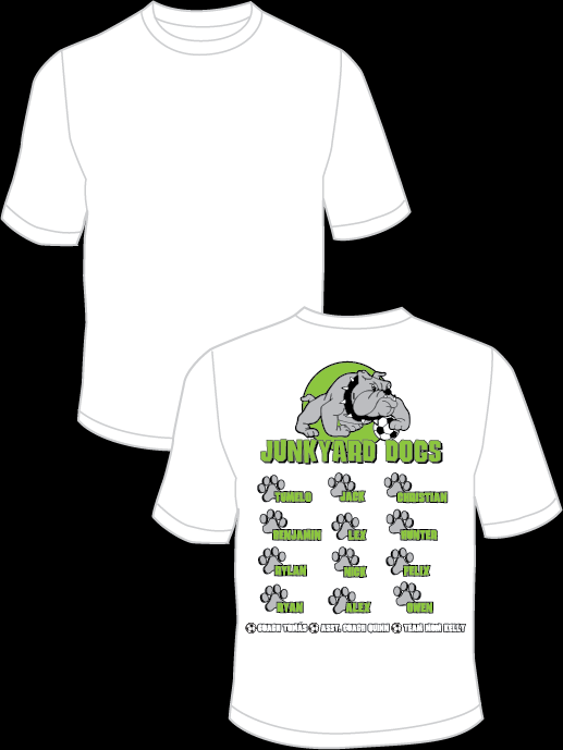 Junkyard Dogs Team Practice Shirt