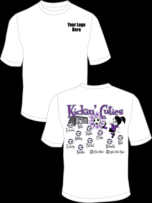 Kicking Cuties Practice T-Shirt