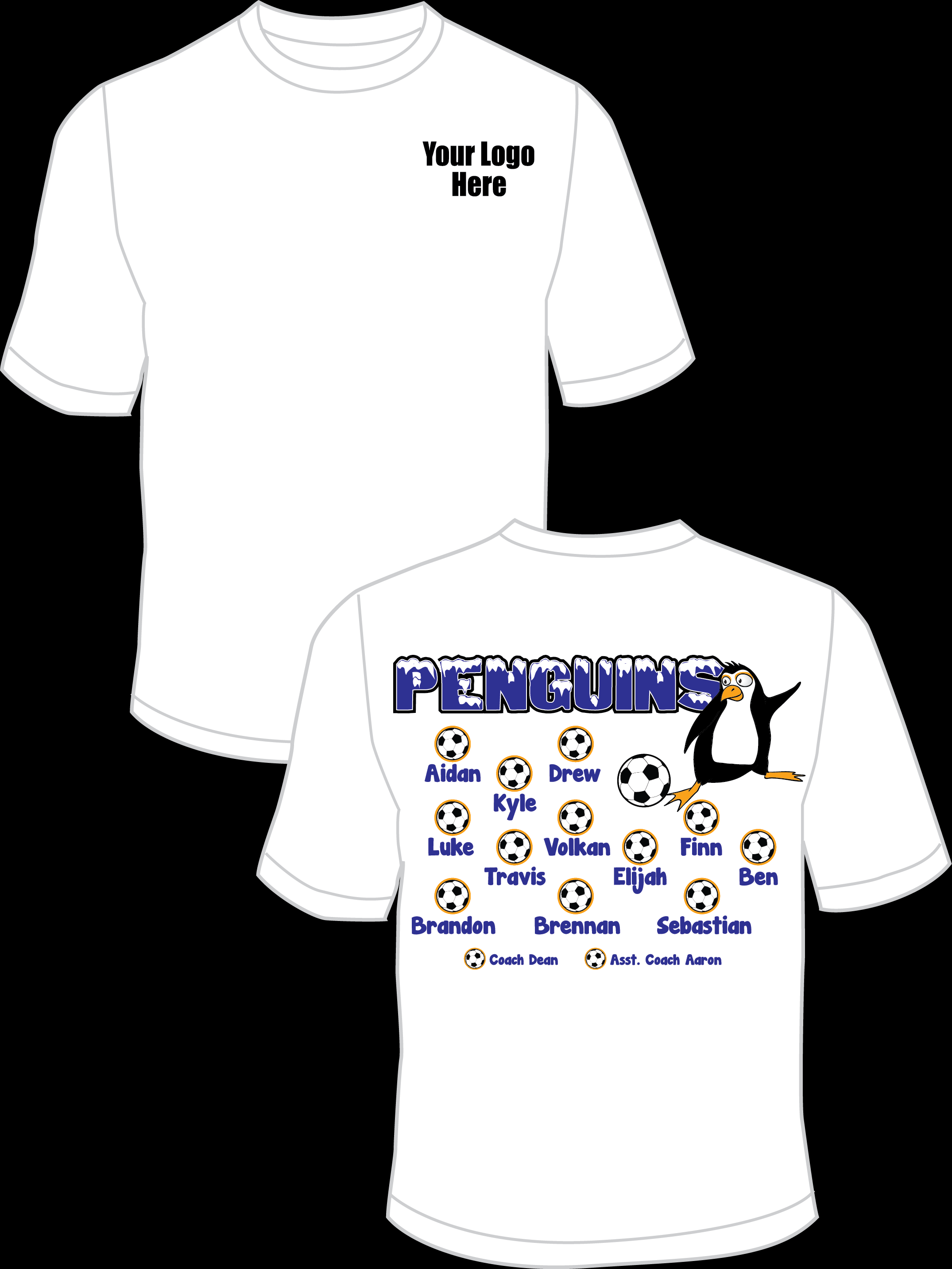 Penguins Practice T-Shirt