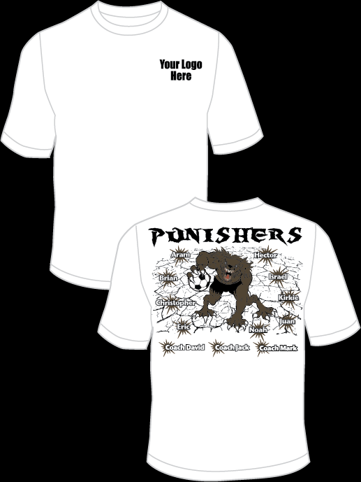 Punishers Practice T-Shirt