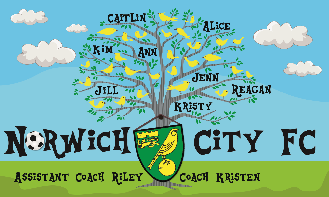 Norwich City FC 2 Custom Vinyl Banner