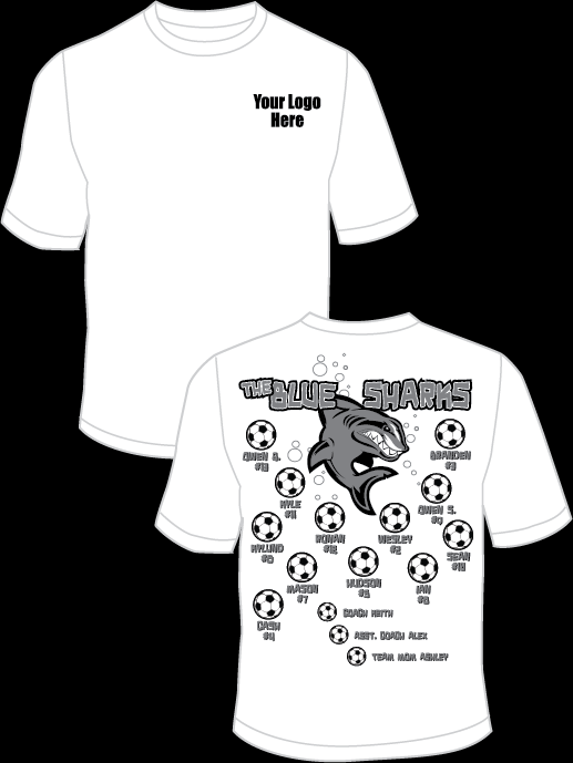The Blue Sharks Practice T-Shirt