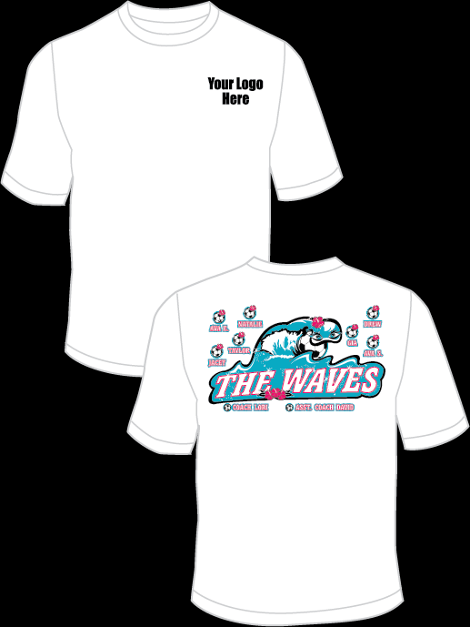 The Waves Practice T-Shirt