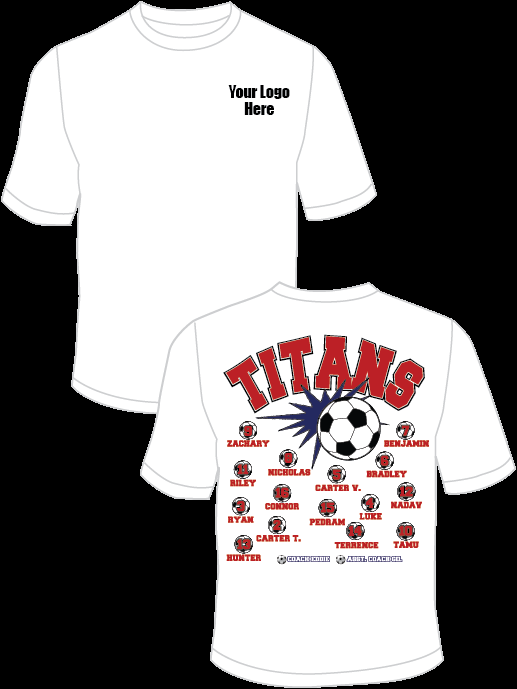 Titans (Red) Practice T-Shirt