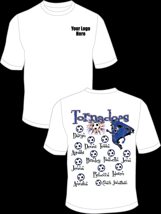 Tornadoes Practice T-Shirt