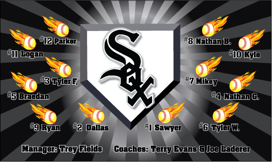 White Sox Custom Vinyl Banner