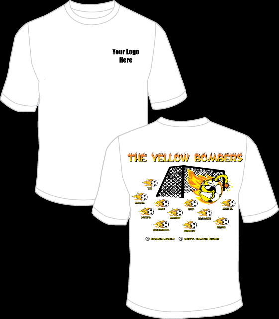 The Yellow Bombers Practice T-Shirt