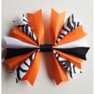 Tangerine Sparkles Ponytail Holder