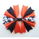 Orange and Black Ponytail Holder