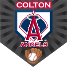 Angels (Alternate) Home Plate Individual Team Pennant
