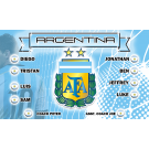 Argentina National Team Custom Vinyl Banner