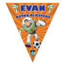 Astro Blasters Triangle Individual Team Pennant
