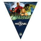 Avengers Triangle Individual Team Pennant