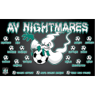 AV Nightmares Custom Vinyl Banner