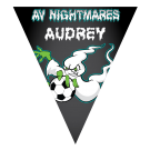 AV Nightmares Triangle Individual Team Pennant
