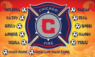 Chicago Fire (Girls) Custom Vinyl Banner