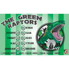The Green Raptors Custom Vinyl Banner