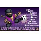 The Purple Ninjas Custom Vinyl Banner