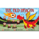 The Red Dragon Custom Vinyl Banner