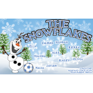 The Snowflakes Custom Vinyl Banner