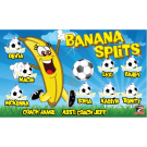Banana Splits Custom Vinyl Banner