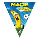 Banana Splits Triangle Individual Team Pennant