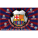 Barcelona Bad Boys Custom Vinyl Banner