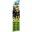 Bat Girls Custom Double-Sided Team Wind Flag