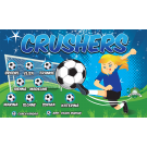 Blue Crushers Custom Vinyl Banner