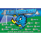 Blue Hurricanes Custom Vinyl Banner