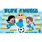Blue Angels (Girls) Custom Vinyl Banner