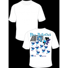 Blue Butterflies Practice T-Shirt