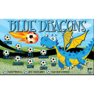 Blue Dragons Custom Vinyl Banner