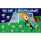 Blue Lightning 2 Custom Vinyl Banner