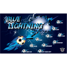 Blue Lightning 4 Custom Vinyl Banner