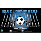 Blue Lightsabers 1 Custom Vinyl Banner