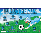 Blue Puppies Custom Vinyl Banner