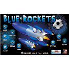 Blue Rockets Custom Vinyl Banner