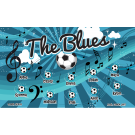 The Blues Custom Vinyl Banner