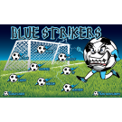 Blue Strikers 2 Custom Vinyl Banner